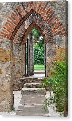 Arches To Heaven Canvas Print by Teresa Blanton