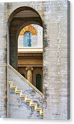 Arches Within Arches Canvas Print by Christopher Holmes