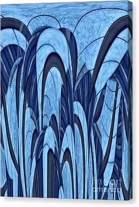 Archifou Series Canvas Print - Archifou - Abstract 02 by Aimelle