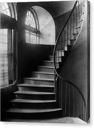 Arching Stairwell Canvas Print