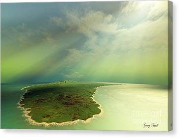 Archipelago Canvas Print by Corey Ford