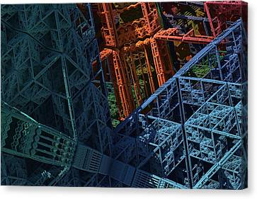 Architect's Nightmare Canvas Print by Lyle Hatch