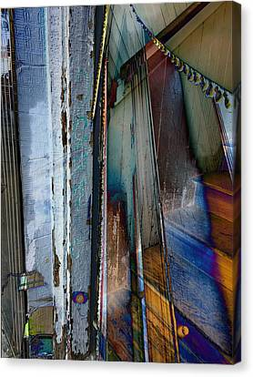Architectural Abstract Canvas Print by Tamara Lee Madden