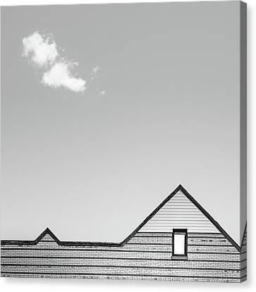 Architectural Ekg Canvas Print