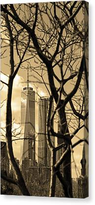 Canvas Print featuring the photograph Architectural by Mitch Cat