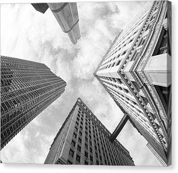 Architectural Perspective Canvas Print