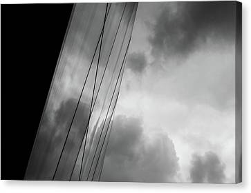Architecture And Immorality Canvas Print