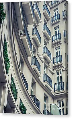 Canvas Print featuring the photograph Architecture Background  by Ariadna De Raadt