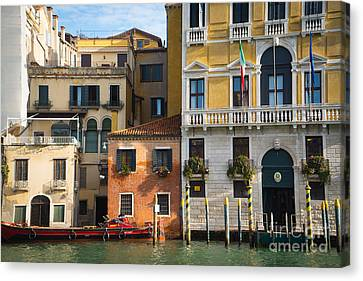 Architecture Of Venice - Italy Canvas Print
