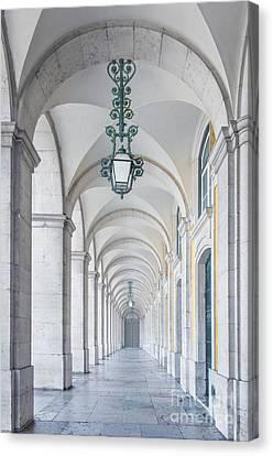 Corridor Canvas Print - Archway by Carlos Caetano