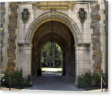 Archway To Education Canvas Print
