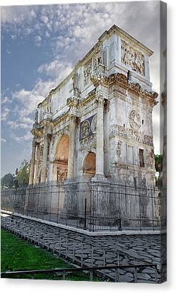 Arco Di Costantino Canvas Print by John Hix