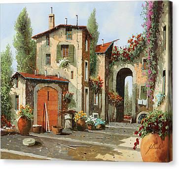 Arco Finale Canvas Print