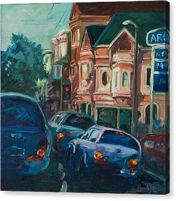 Arco Canvas Print