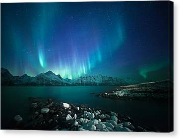 Arctic Blessings Canvas Print by Tor-Ivar Naess