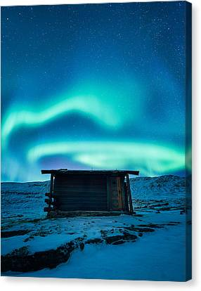 Arctic Escape Canvas Print by Tor-Ivar Naess