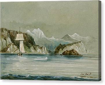 Arctic Seascape Canvas Print