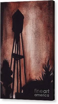 Ardmore Watertower Canvas Print