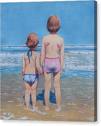 Are We Having Fun Yet Canvas Print by Constance Drescher