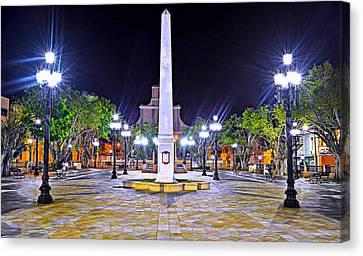 Arecibo Plaza Canvas Print by Dado Molina