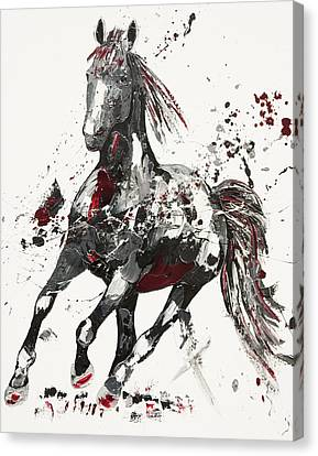Arena Canvas Print by Penny Warden
