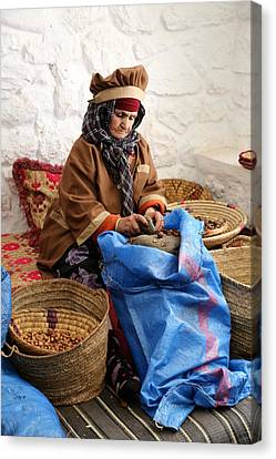 Canvas Print featuring the photograph Argan Oil 3 by Andrew Fare