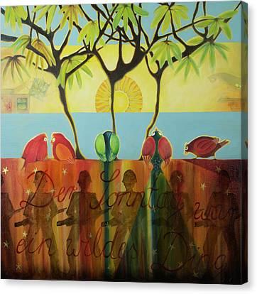Argentinischer Fruehling Canvas Print by Karin Mulawa