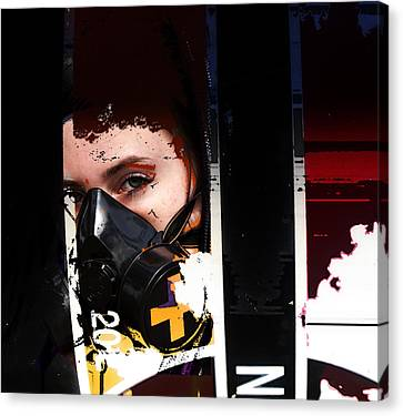 Argon Canvas Print by Adam Kissel