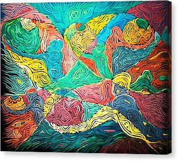 Argungun Fishing Festival Canvas Print by Bankole Abe