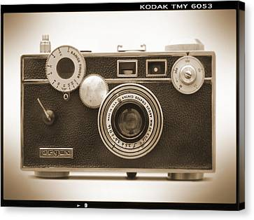 Classic Camera Canvas Print - Argus - Brick by Mike McGlothlen