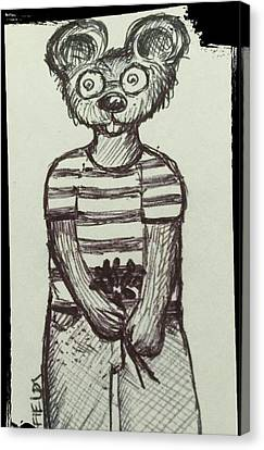 Argyle Canvas Print by Aimee Fields