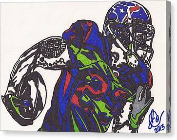 Arian Foster 1 Canvas Print