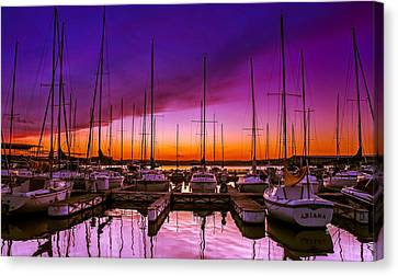 Ariana's Sunset Canvas Print