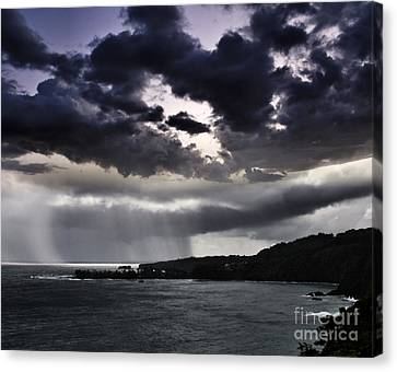 Arianrhods Touch Canvas Print by Sharon Mau