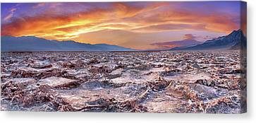 Salt Flats Canvas Print - Arid Delight by Az Jackson