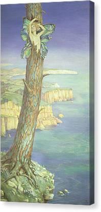 Ariel Canvas Print by Maud Tindal Atkinson
