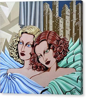 Arielle And Gabrielle Canvas Print by Tara Hutton