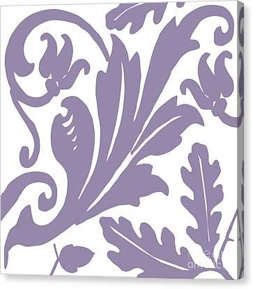 Arielle Grape Canvas Print