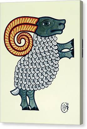Aries Canvas Print by Ian Herriott