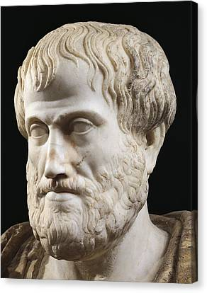 Aristotle Canvas Print by Lysippus