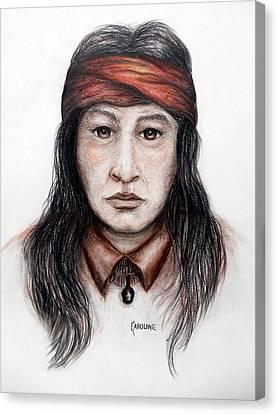 Arizona Apache Canvas Print