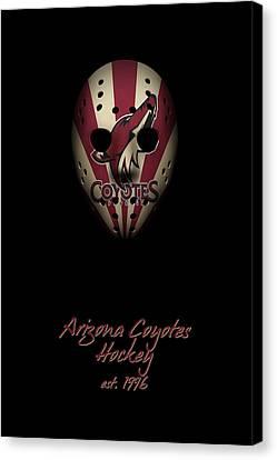 Arizona Coyotes Established Canvas Print by Joe Hamilton