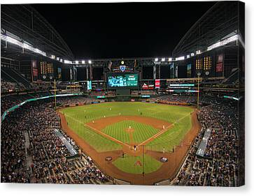 Sf Giants Canvas Print - Arizona Diamondbacks Baseball 2639 by David Haskett