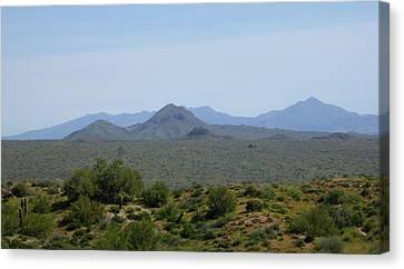 Canvas Print featuring the photograph Arizona Horizons by Gordon Beck