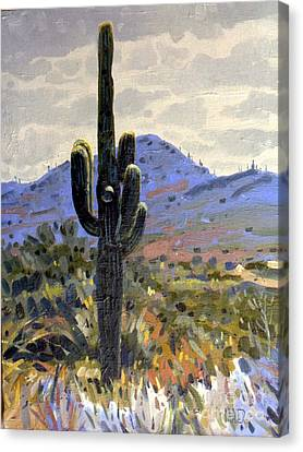 Arizona Icon Canvas Print