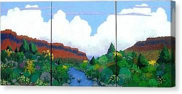 Arizona Sky Canvas Print by Bernard Goodman