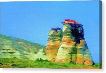 Arizona Spring Canvas Print by Jeff Kolker