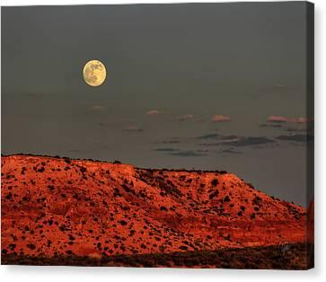 Arizona Supermoon 001 Canvas Print