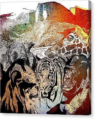 Ark Of Hope The Rainbow Canvas Print