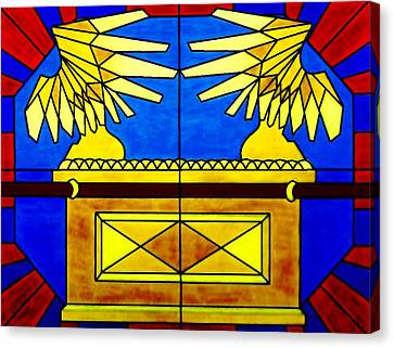 Ark Of The Covenant Canvas Print by Michelle Young